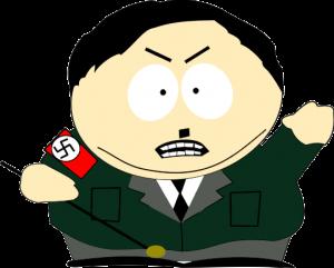 Картман Гитлер в векторе, eps, cdr, vector