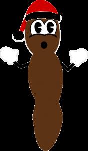 Мистер Хенки, рождественская какашка в векторе, eps, cdr, vector