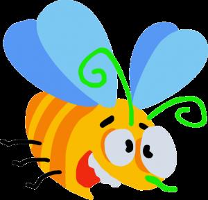 Бешенная пчела в векторе
