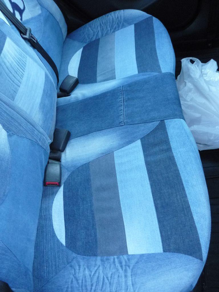 Как сшить из старых джинсов чехол 2