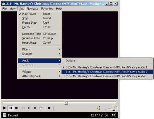 315 - Как выбрать звуковую дорожку в видео