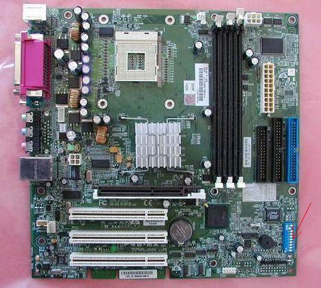 asusp4b mx - Сброс пароля BIOS HP Compaq Vectra VL420