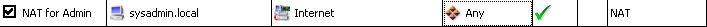 nat kerio 5 - Настройка NAT в Kerio Winroute Firewall