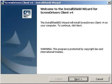 screw drivers client 1 - Установка и настройка ScrewDrivers Client v.4 на клиент терминалов RDP