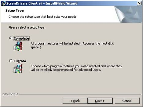 screw drivers client 3 - Установка и настройка ScrewDrivers Client v.4 на клиент терминалов RDP