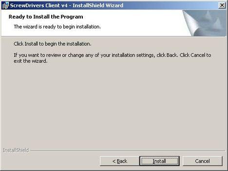 screw drivers client 4 - Установка и настройка ScrewDrivers Client v.4 на клиент терминалов RDP