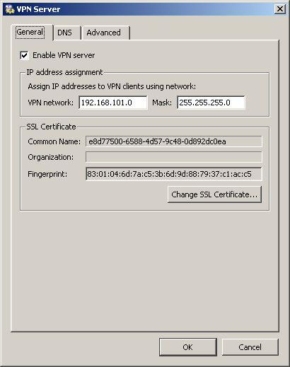 kerio vpn server 2 - Настройка Kerio VPN Server для подключения отдельных VPN клиентов