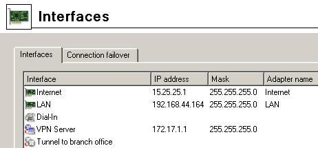 vpn tunnel vpnifaces - Соединение двух локальных сетей с помощью Kerio VPN Tunnel