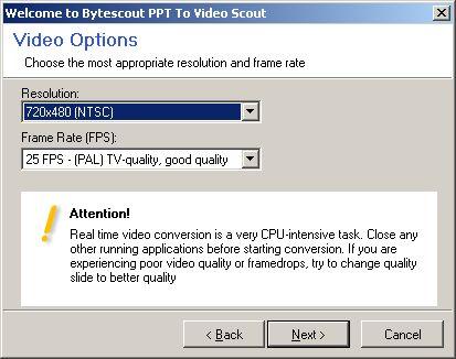 ppt to video 5 - Как конвертировать презентацию PPT PowerPoint в MPEG Видео