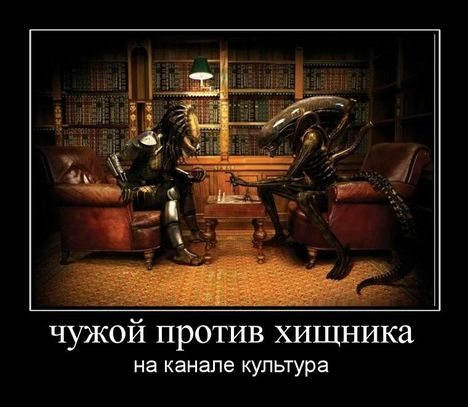 chuzhoj protiv hischnika - Чужой против хищника на канале Культура