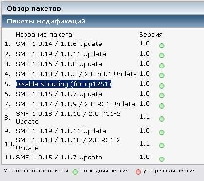disable shooting - Форум SMF ошибка Subs.php Строка: 3687