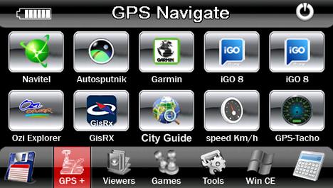 alt menu explay - Как дополнить навигатор Explay дополнительными программами