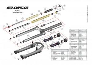 XCM fork2 300x212 - Сервисмануал по вилке SR SUNTOUR XCM-LO modelyear 2006