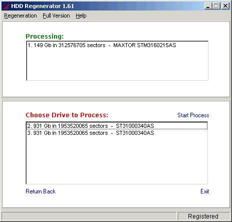 hdd regenar 2 - Как восстановить BAD сектора на жестком диске