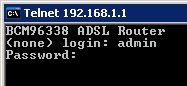 telnet dsl dlink 2 - Как подключиться TELNET к модему D-Link DSL-2500U