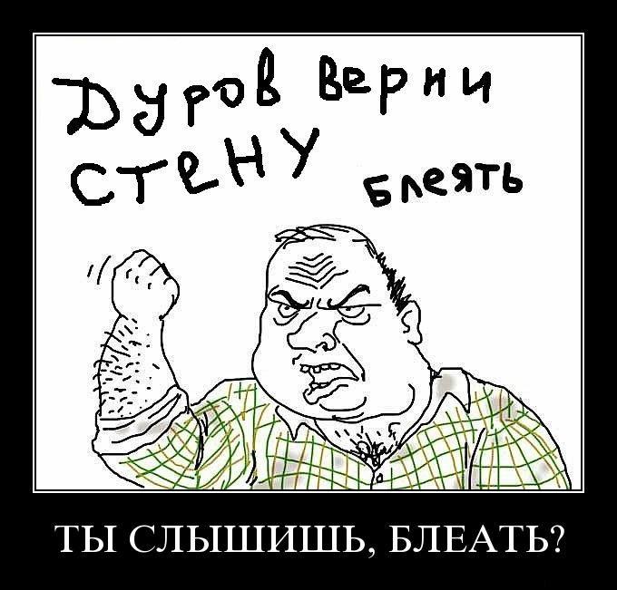 durov verni stenu - Дуров, верни стену блеать!