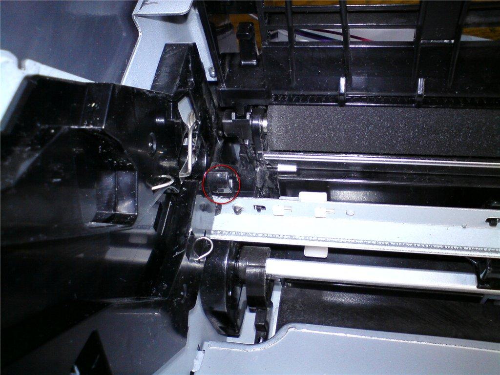 canon2900 sds 1 - Canon 2900 Отсутствует тонерный картридж и приходится хлопать крышкой