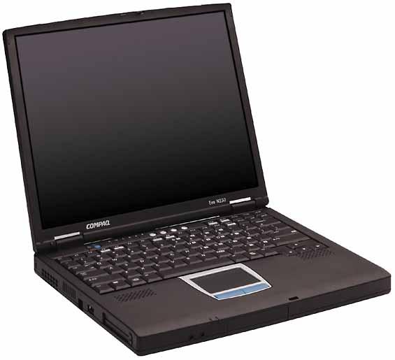 compaq n150 565x515 - Ноутбук Compaq Evo N150 не включается, индикатор зарядки мигает красным и желтым