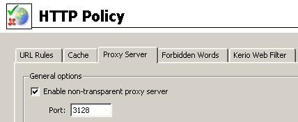 proxy kerio 2 - Настройка PROXY интернет на Kerio Winroute Firewall