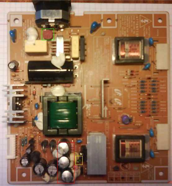 bp - Не работает Samsung SyncMaster 740N