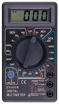 830 - Инструкция к Digital Multimeter 830В, 830BZ, 830, 831, 832, 838 на русском язвке