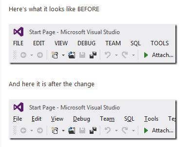 2dac71dffbef9afc0900fbda44af23e2 - Как убрать CAPS из Visual Studio 2012