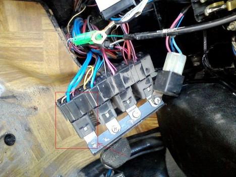 P17 09 12 16.40 468x351 - ВАЗ 2131 НИВА не работает один вентилятор охлаждения
