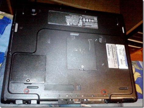 1 thumb - Как разобрать ноутбук Compaq EVO N800v