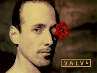 valve - Как появился мужик с краном в глазу / Логотип VALVE