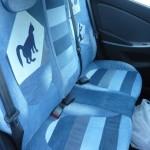 cat car jeans 14 150x150 - Чехлы для автомобиля из старых джинсов