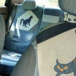 cat car jeans 17 150x150 - Чехлы для автомобиля из старых джинсов