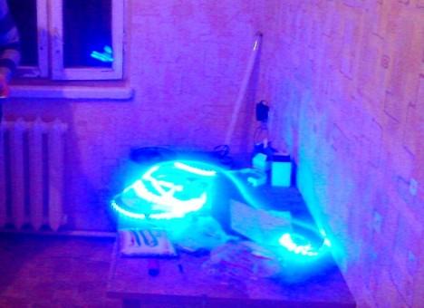 4 468x340 - Светодиодная лампа-светомузыка своими руками