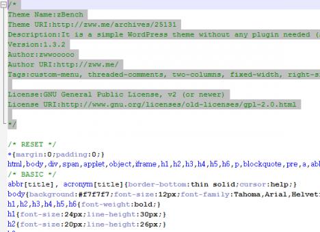 zbench not update 468x339 - Как отучить от обновлений тему zBench / Wordpress
