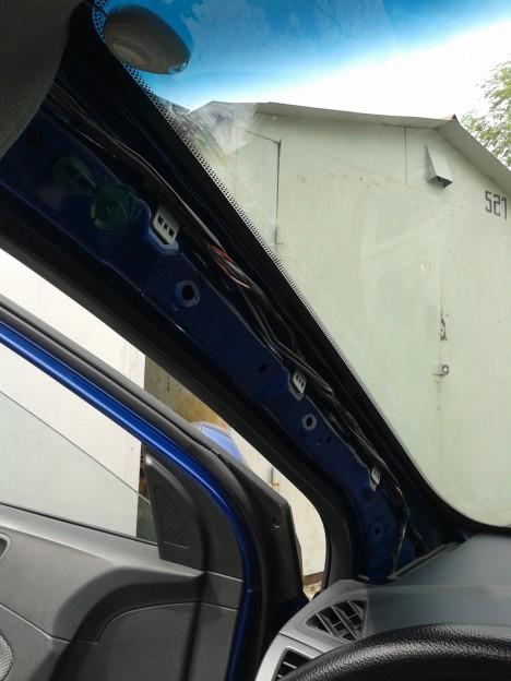 20140601 152311 468x624 - Hyundai Solaris / Как снять обшивку водительской арки / стойки ветрового стекла