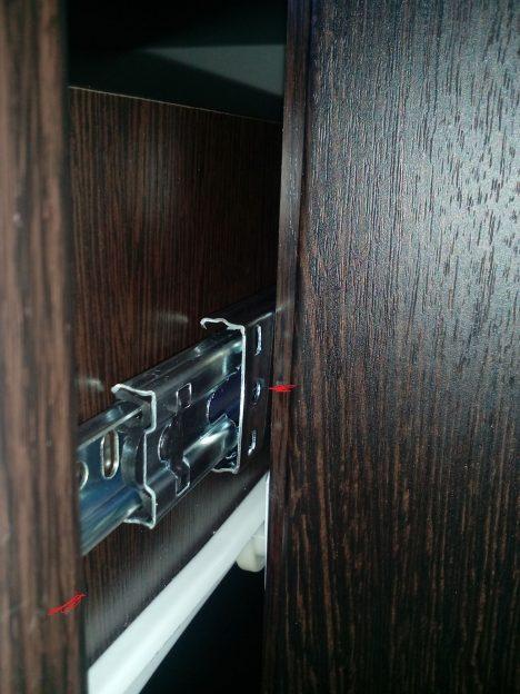 7 468x624 - Что делать, если мебельные ящики проваливаются, застревают и не вообще бесят?
