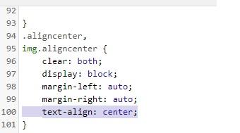 """figure aligncenter - figure class=""""aligncenter"""" или почему wordpress перестал центровать картинки."""