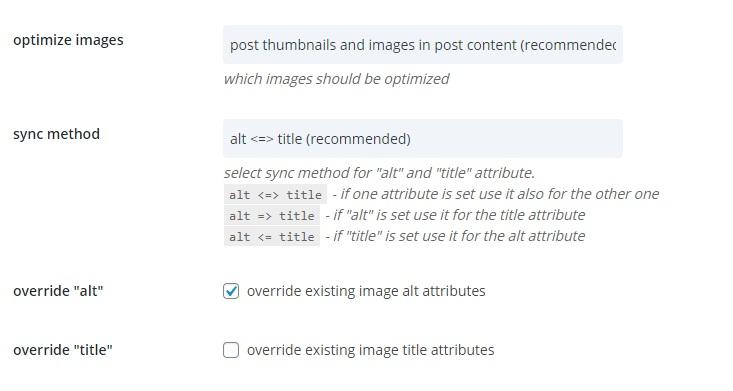 seo alt worspress imges 1 - Массовое изменение Alt и Title у изображений во всех постах